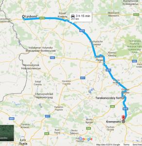 Road to Kremenets