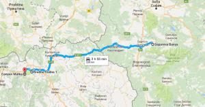 Sapareva Banya to Vodno Mountain and Matka Canyon